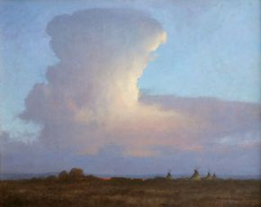 Clouds, thunderheads over Wyoming, Fine arts, artists paintings, photographs