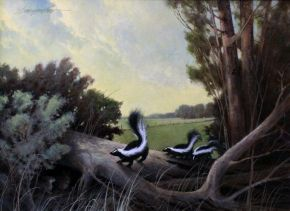 Cheyenne Frontier Days art show, Skunks,